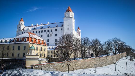 Bratislava Castle, Slovakia wallpaper