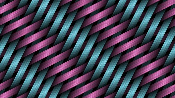 Woven fibers pattern wallpaper