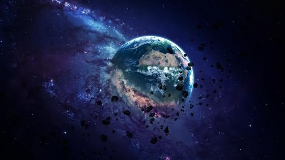 Apocalyptic Earth wallpaper