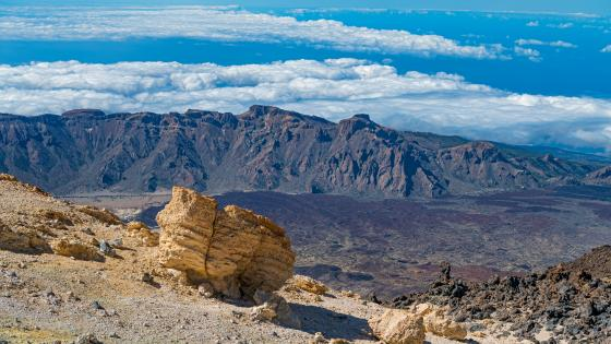 Teide National Park, Tenerife, Canary Islands wallpaper
