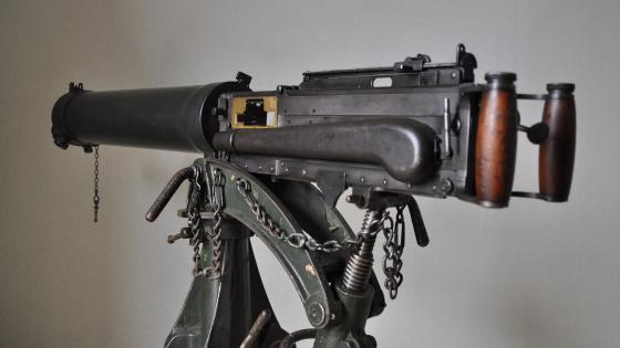 Vickers machine gun wallpaper