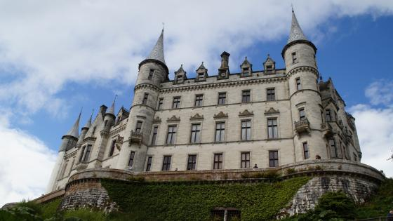 Dunrobin Castle (Scotland) wallpaper