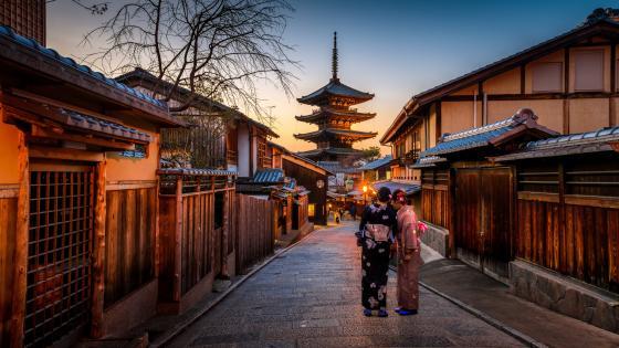 Yasaka pagoda, Kyoto wallpaper