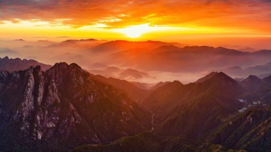 Mount Huangshan wallpaper