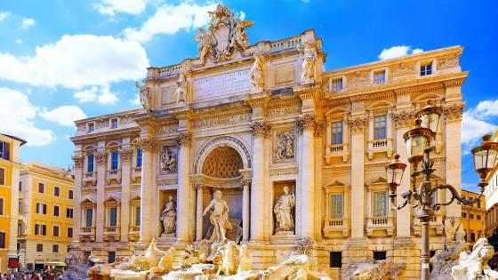 Trevi Fountain (Rome, Italy) wallpaper