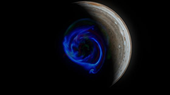 Jupiter Space Art wallpaper