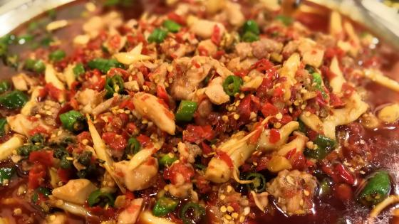 Sichuan food wallpaper
