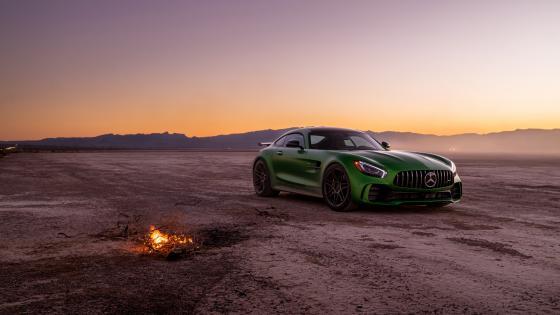 Mercedes AMG GT-R wallpaper