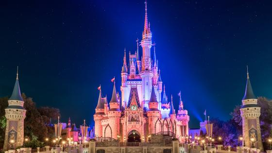 Disney World, Cinderella Castle wallpaper