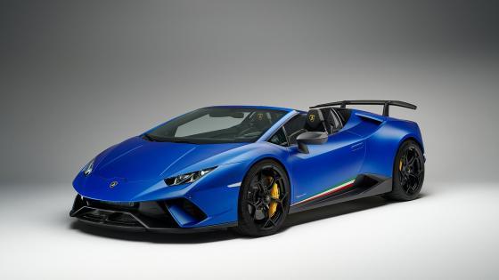 Lamborghini Huracán Evo Spyder wallpaper