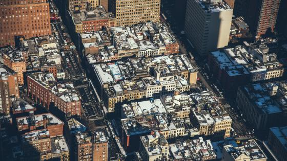 Aerial View of Tribeca wallpaper