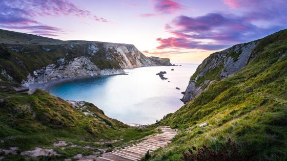 Man O'War Bay (England) wallpaper