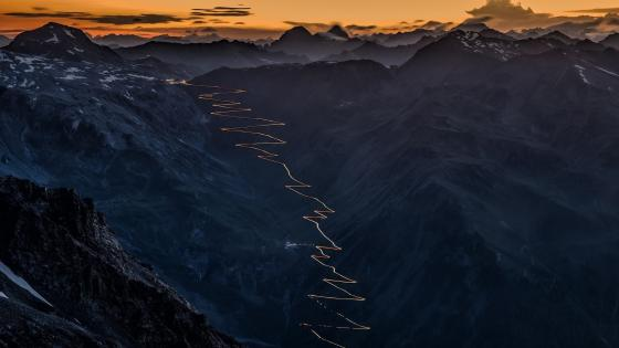 Stelvio Pass (Italy) wallpaper