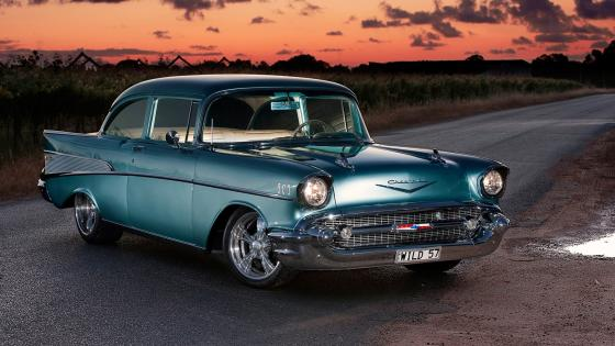 1957 Chevrolet Bel Air wallpaper