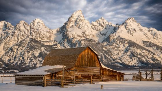 Moulton Barn (Grand Teton National Park) wallpaper