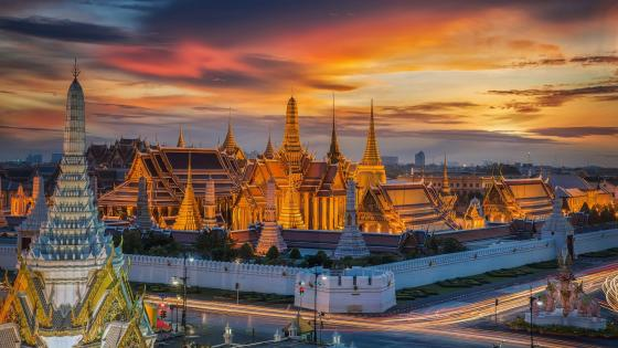 The Grand Palace (Bangkok, Thailand) wallpaper