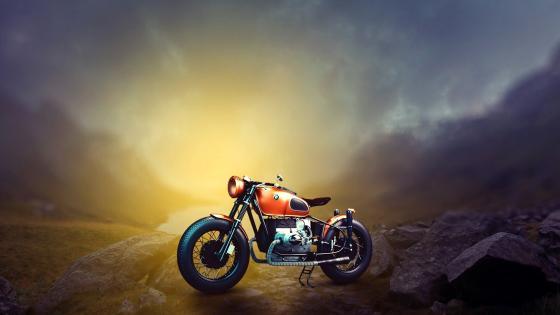 BMW Vintage Motorcycle wallpaper
