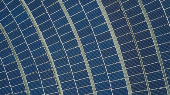 Solar Farm wallpaper