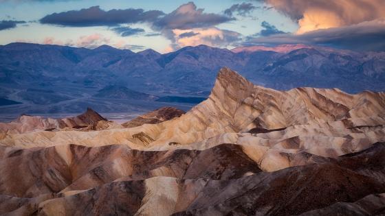 Death Valley National Park, Zabriskie Point wallpaper