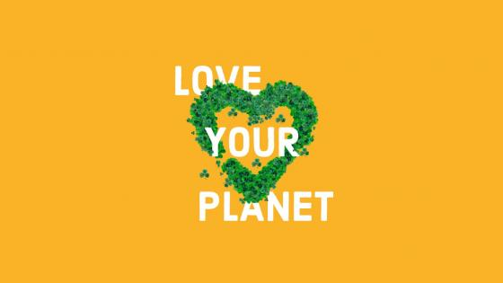 Love your planet wallpaper