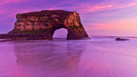 Natural Bridges State Beach wallpaper