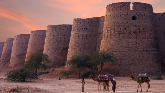 Derawar Fort (Pakistan) wallpaper
