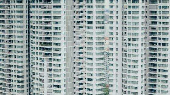 Tower Blocks in Singapore wallpaper