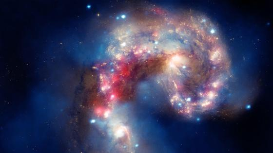 Antennae: A Galactic Spectacle wallpaper