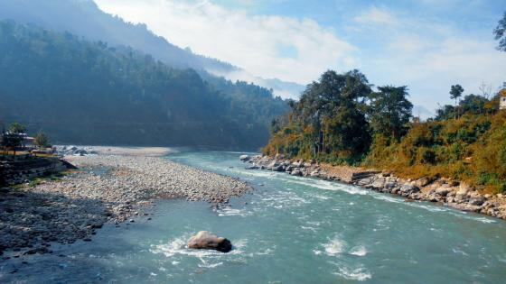 river of nepal wallpaper