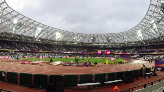 London Stadium during the 2017 IAAF World Championships wallpaper