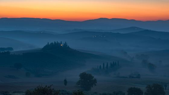 Val D'orcia wallpaper