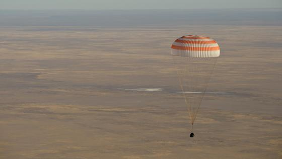 Expedition 56 Returning Home wallpaper