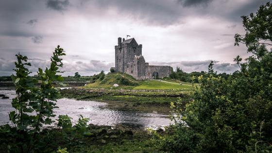 Dunguaire Castle wallpaper