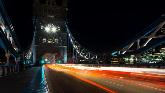 Tower Bridge Long Exposure Photography wallpaper