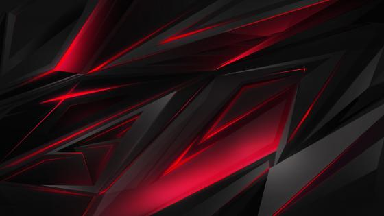 Red and black spike backrounds wallpaper