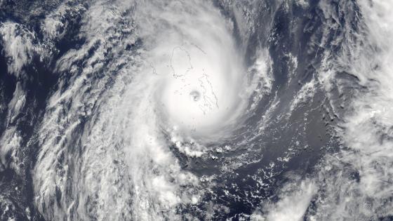 Tropical Cyclone Winston Slams Fiji wallpaper