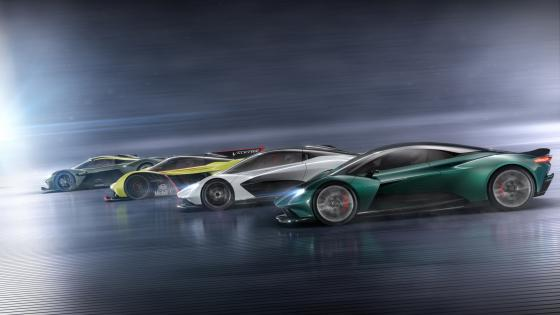 Aston Martin Vanquish Vision Concept car wallpaper