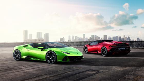 Lamborghini Huracan EVO Spyder wallpaper