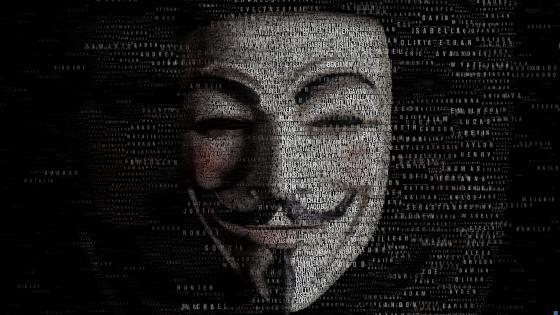 Matrix mask wallpaper