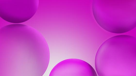 Purple bubbles wallpaper