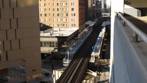 Chicago 'L' System wallpaper