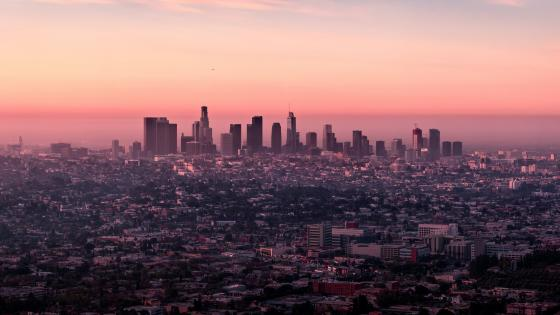 Los Angeles skyline wallpaper
