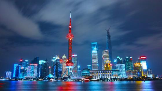 Pudong Skyline (Shanghai) wallpaper