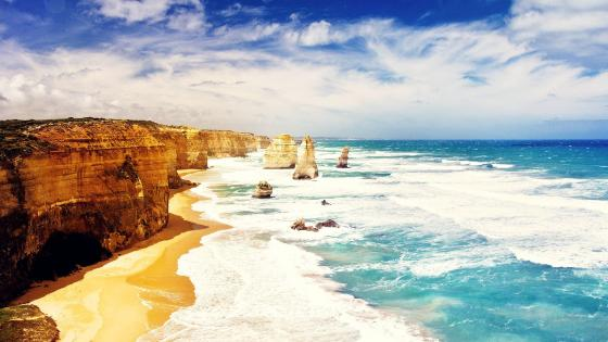 Twelve Apostles Marine National Park wallpaper