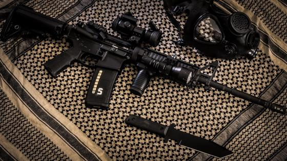AR-15 wallpaper