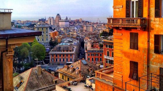 The City Of Genoa wallpaper
