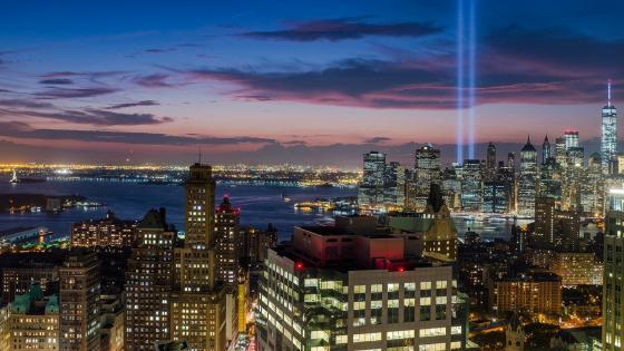 Manhattan skyline wallpaper