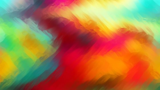 Colorful blurred abstract painting wallpaper