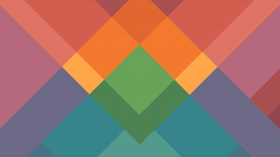 Colorful tiles material design wallpaper