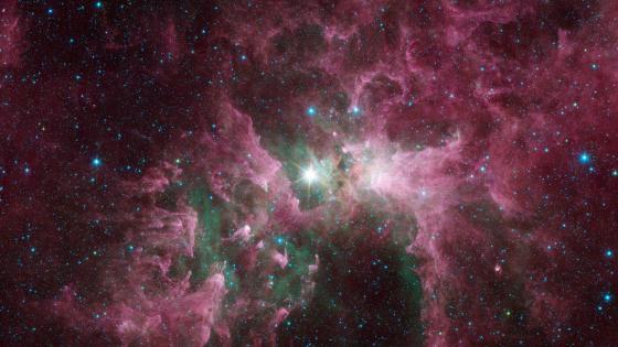The Tortured Clouds of Eta Carinae wallpaper